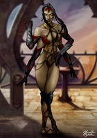 Mortal Kombat: Sheeva by JhonatasBatalha