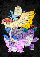 TPP: Gen1 Team by wondering-souls
