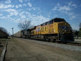 Union Pacific in Colbert by CNW8646