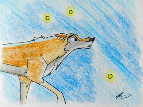Aleu and the stars by cookiefur