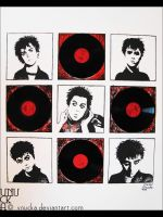 Billie Joe in Pop Art. Mural by Vnucka