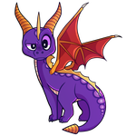 Spyro the Dragon by wildflre