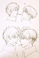 Ereri Pocky Day by kurobas