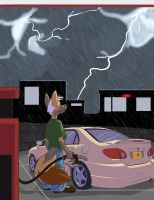 Summer Rain by CoyoteEsquire
