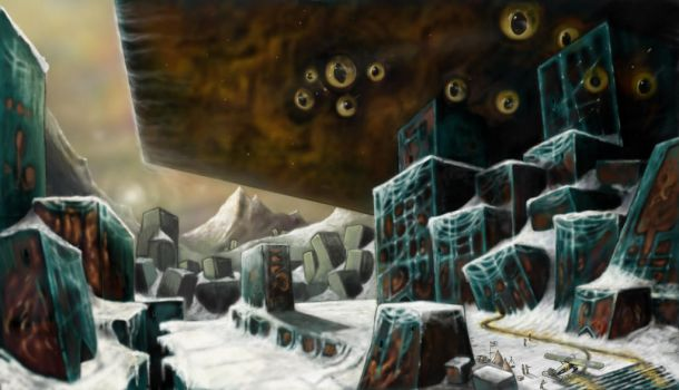 mountains of madness. final expedition by fiend-upon-my-back