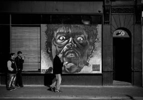 Street Face by Wrightam