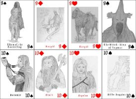Middle Earth Cards 5 by Meltintalle