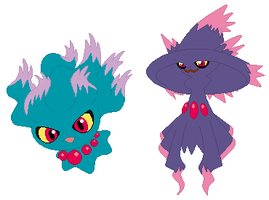 Misdreavus and Mismagius Base
