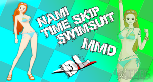 MMD Nami Timeskip Swimsuit DL by Friends4Never
