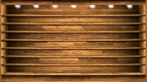 Wood Shelves Wallpaper 2 by SamirPA