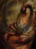 Living Scorpion Tattoo by PimArt