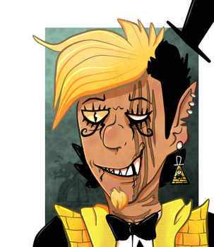 Bill Cipher Icon v2 by KingGigabyte