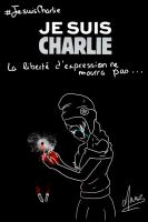 Tribute for Charlie Hebdo by Only-Blue27