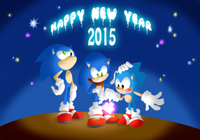 Happy New Year 2015 by thegreatrouge