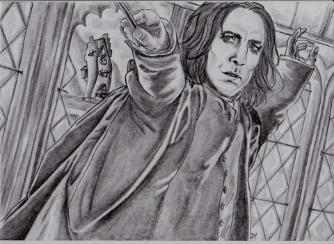 Severus Snape and the Deathly Hallows, Part II by KaeptenGeldkralle