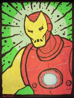 Iron Man in the 70s by Hartter