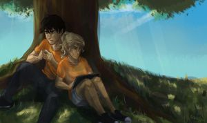 Percabeth by taratjah