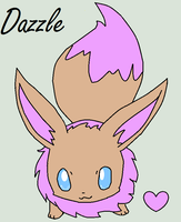 Drizzle's new Daughter, Dazzle! by Drizzle-The-Glaceon