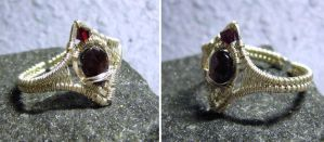 Malignia - Adjustable Ring by Carmabal