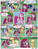 Mlp Party Of One Pag 5 creepypasta (english) by j5a4
