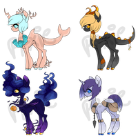 Pony Adopts-- $4/400 POINTS EACH by fa-wn