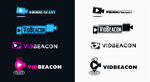 Vidbeacon Logo Concepts (for sale) by DianaGyms