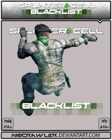 Splinter Cell Blacklist Icon v2 by Ni8crawler