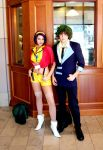 Cowboy Bebop Cosplay by drenchedinashes