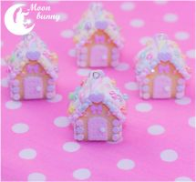 Candy house 3 Necklace by Moon bunny by CuteMoonbunny