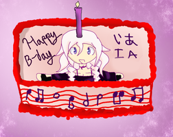 Happy Birthday IA!!!! by kisekinokami