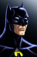 The BATMAN Icon Series BLUE by Thuddleston
