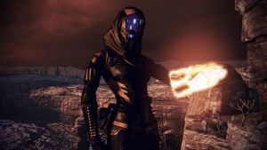 Tali'Zorah vas Normandy 12 by johntesh