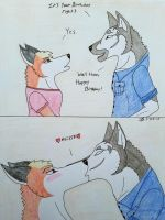 A Birthday Kiss From Gabe by 101lonewolf95