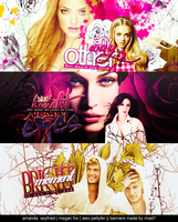 3 banners by mia47