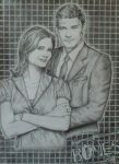 Bones - Brennan and Booth by AshTwin