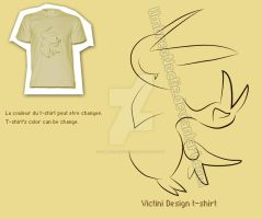 Victini Design T-Shirt by UmbreoNoctie