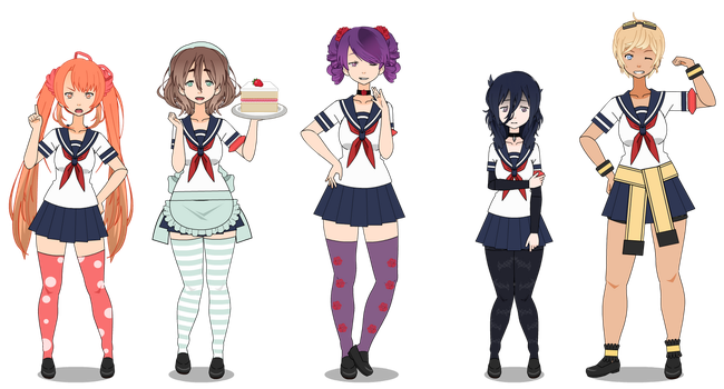 Yandere Simulator Rivals {PART 1} by gayger-b0mbastic