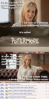 JK Rowling on Pottermore by stinglacson