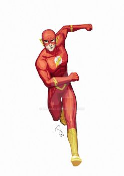 The Flash by Fandias