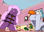 Ichi And Pig xD by veckon