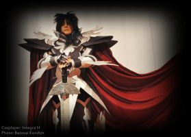 Hades Armor cosplay by Integra-cosplay