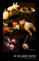 D and D Dice Jewelry by PstMadamX