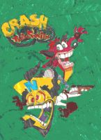 Crash Bandicoot by SEBASTIEN11
