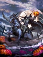 Headless Horseman by GENZOMAN