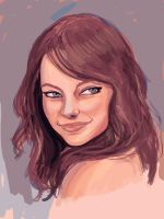 Emma Stone by pandatails