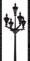 Street Lamp Cut Out 2 by ManicHysteriaStock