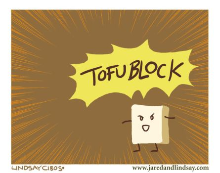 TOFU BLOCK by peachfuzzmargins