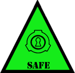 SCP Foundation: Safe Symbol (Warning) by Lycan-Therapy