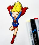 It's a bird! it's a plane! it's supergirls undies? by gummigator