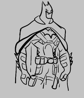 Batman sketch by SuprVillain